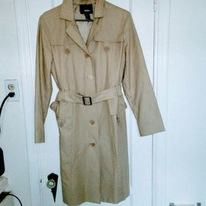 Mossimo Khaki Trench Coat - Large